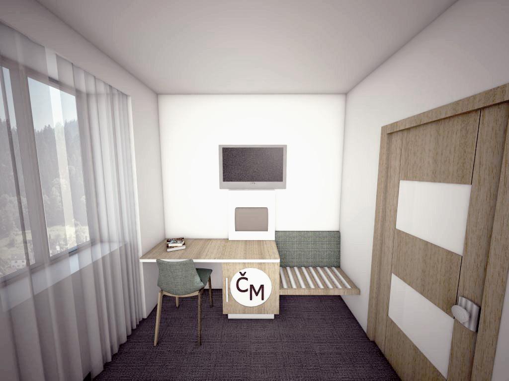 Hotelový pokoj ČM